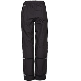 VAUDE Fluid Full-Zip Pants Damen black